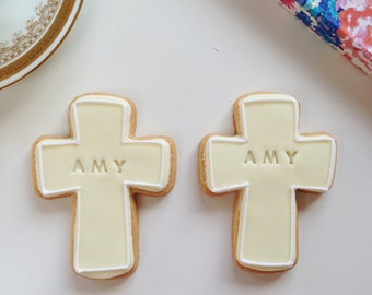 christening gift, christening biscuits, confirmation gift, god parents gift, Baptism gift biscuits, communion cookies, baptism cookies