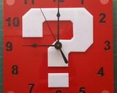 Super Mario Question Mark block clock