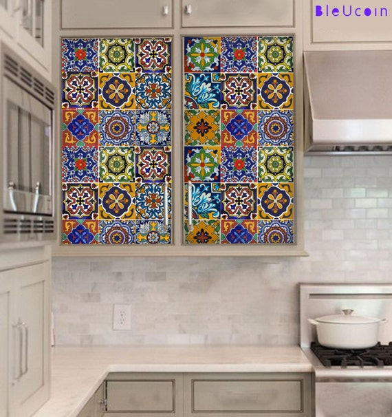 Kitchen/bathroom Backsplash Tile/Wall/stair Decal : Mexican