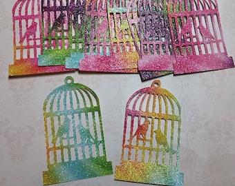Die Cut Bird Cages..  #MIC-23