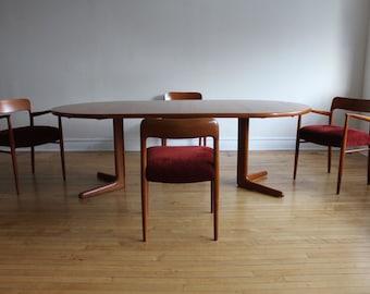 Danish Modern Teak Dining Set by Møller