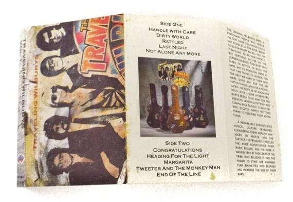 Vintage 80s Traveling Wilburys Volume One Album Cassette Tape Ebay