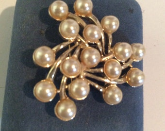 Pearl beaded brooch 1-12 in