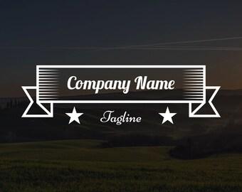 Premade Banner Logo #1, Watermark, Business Logo