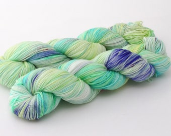 Rio - Glitz Sock Yarn - Hand Dyed Sock Yarn