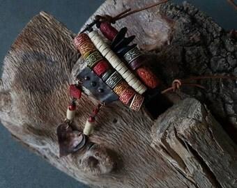 Rustic Necklace / Summer 2016 /  Copper Heart  /  Copper Jewelry