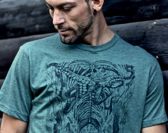 Cathedral Organic t-shirt ~ Made in the USA.