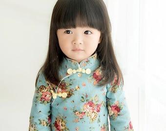 Girls Chinese dress Qi Pao