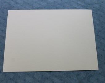 25 sheets of cut 80lb ivory card stock