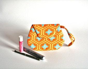 Small Orange Clutch Purse - Small Clutch Purse - Small Handbags - Small Purse - Small Bags - Clutch Handbags - Woman's Clutch