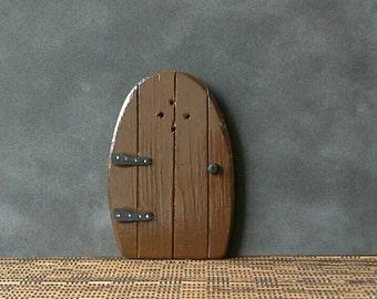 Rustic Wooden Fairy Door