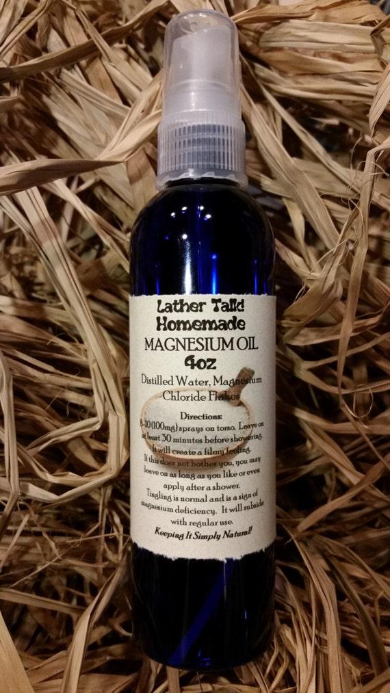 Magnesium Oil 4 oz. Spray