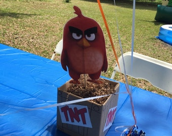 Birds that are angry centerpieces
