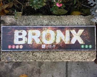 Bronx - 4x15 in.