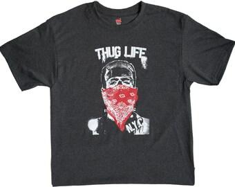 Thug Life Frankenstein (Charcoal Heather Gray)