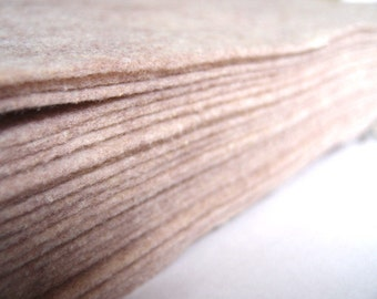 Felt - Sandstone - Kunin Eco Rainbow Classic Felt Made from Recycled Plastic Bottles Eco-Fi Eco Friendly Recycled Polyester