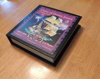 """Book Case Version   """"Curse of Davey Jones - Pirate adventure for everyone, arggh......matey!             Crafted by family for family!"""