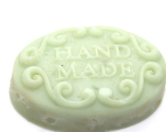 Soap with green apple
