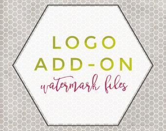 Premade Logo Add On -- Watermark Files