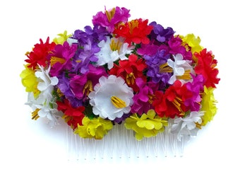 10% off with the code BDAY10 Summer Wildflower Hair Flower Comb