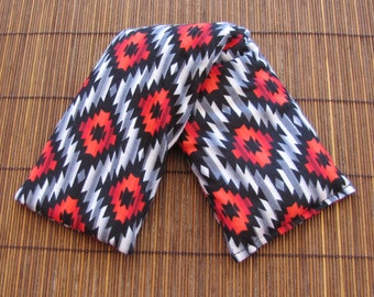 Cherry Pit Heating Pad - Aztec - Microwaveable Cherry Pit Heating Pad