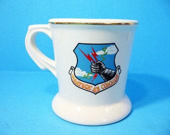 Military Mug, 434th REFW Stratigic Air Command, Collectible Mug, Souvenir Cup