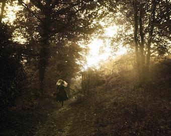 "Postcard photography art ""Autumn call me II"""