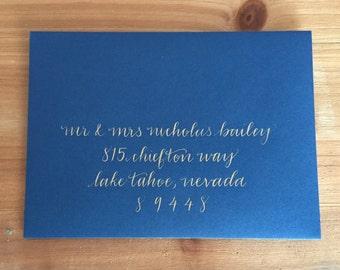 Wedding Calligraphy-Envelope Addressing