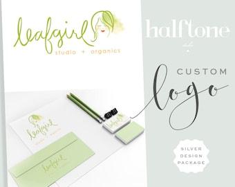 Custom Logo Design,  SILVER,  Professional Logo Design