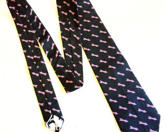 Purple Archer Hawkeye necktie