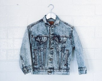 Kids vintage levis denim jacket