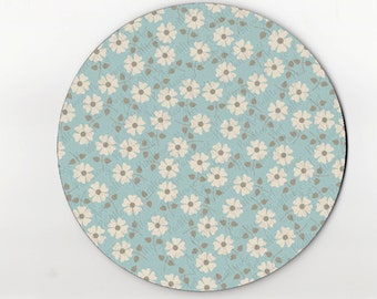 mouse pad / mousepad / floral mouse pad / floral mousepad
