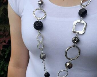 Bling Time Lanyard Necklace