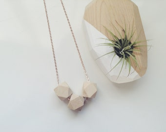 Natural Geometry Necklace