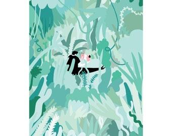 A3 Jungle Print