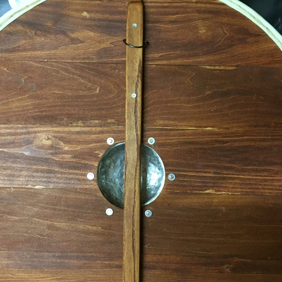 Authentic Viking Plank Shield