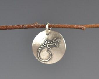 Gecko talisman-totem-charm-amulet