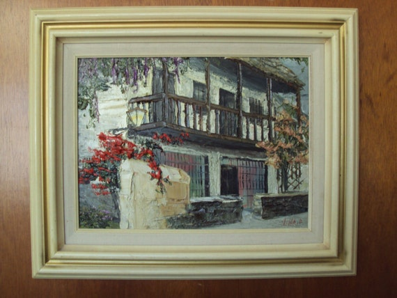 Oil Painting St Augustine Florida Monk S Vineyard Nina