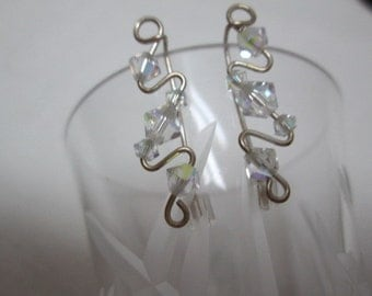 EARRINGS, CLIMBER or DANGLE