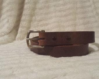 Leather Belt - 40 inch Waist