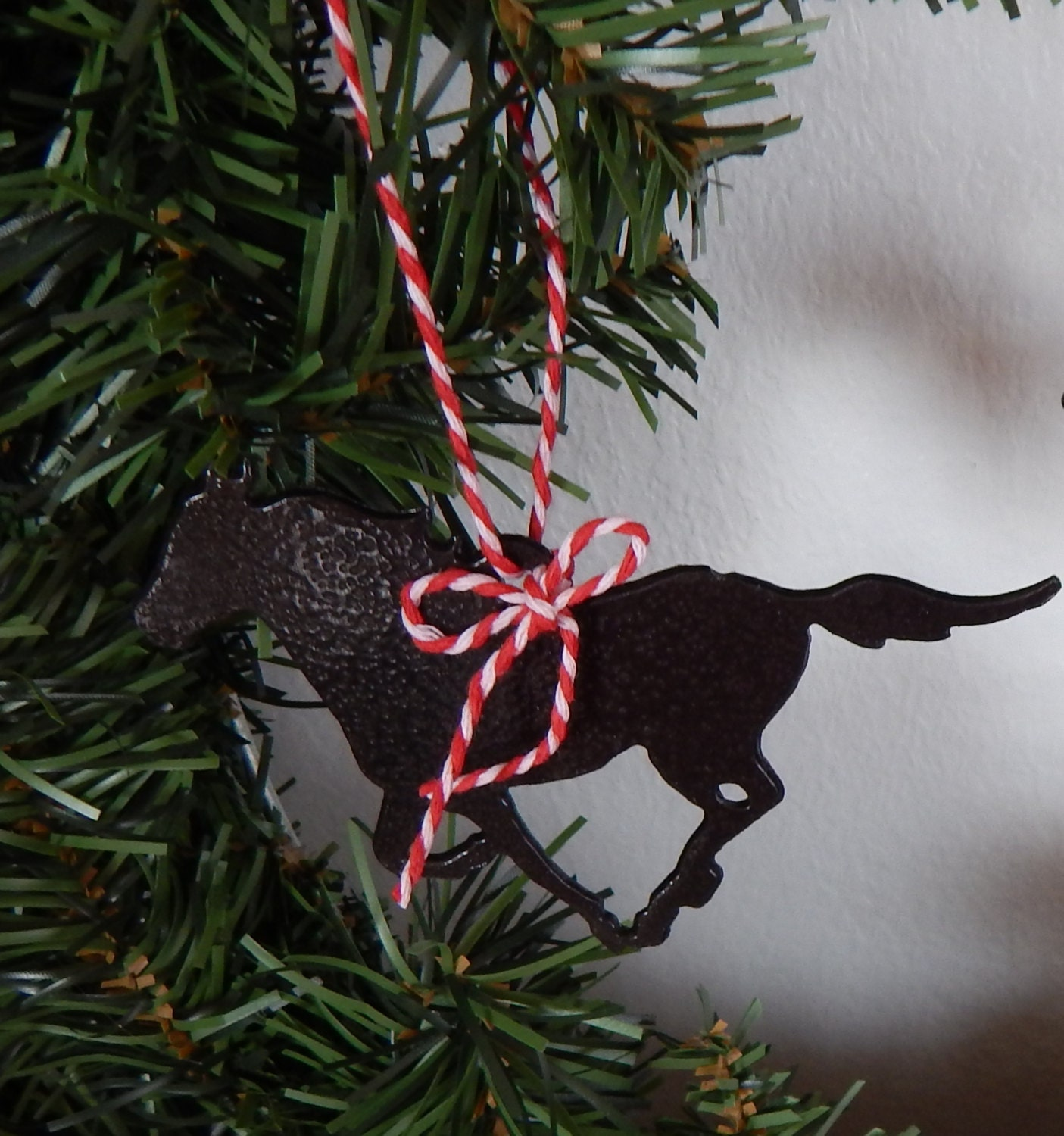 Christmas Tree Ornament,horse,horse Gift Tag,western Christmas Ornament,simple  Christmas Ornament,western Decor,horse,cowboy Christmas,