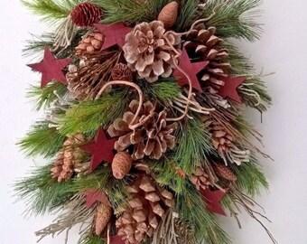 Christmas Swag - Pine Swag - Winter Decor - Christmas Decoration