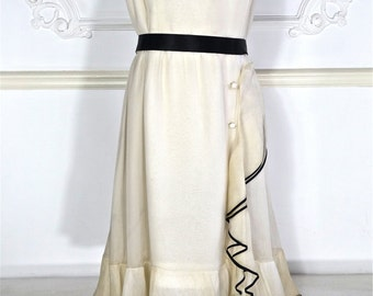 1960s Christian Dior Haute Couture Dress - Printemps-Ete 1968