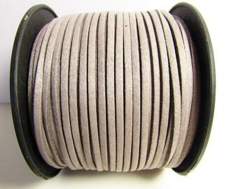 D-02690 - 2 m  Faux suede lightgrey