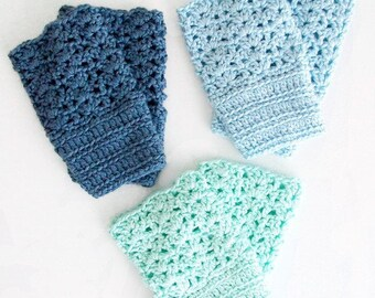 Vintage Style Crochet Pattern Lace Boot Cuffs Toppers