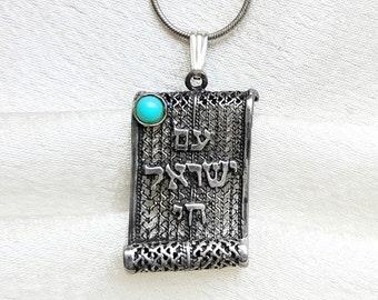Chai Necklaces.Chi Pendants.Chai Jewelry.Am Yisrael Chai.Israeli Jewelry.Kabbalah Chai Jewellery.Jewish Life Pendant.Judaica.FREE SHIPPING!