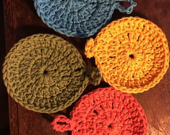 Round Cotton Coasters