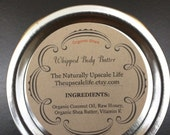 Organic Whipped Shea Body Butter Cream