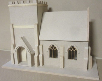 1/12 scale   Village Church   KIT   Dolls House by DHD