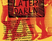 THOSE DARLINS POSTER (finale tour)